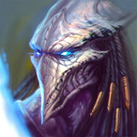 ...Commission: Protoss Zealot... by ShadowPriest