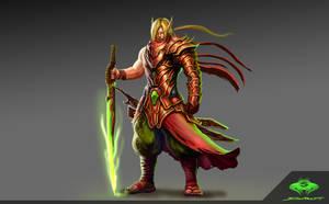 ...Blood Elf Blademaster... by ShadowPriest
