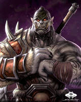 ...Mag'har Orc Warrior... by ShadowPriest