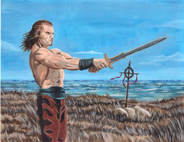 Conan the barbarian by greyfoxdie85