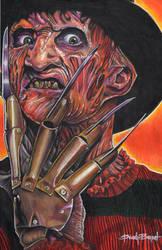 Freddy Krueger by greyfoxdie85