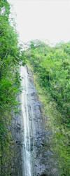Hawaiian Waterfall by whitetrshking