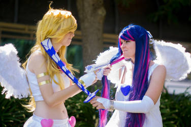 Panty and Stocking- Rivals by messr-remus-lupin