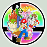 Mario Smashers by DeannART