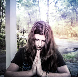 Namaste by Daughter-of-Hecate