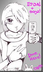 Look at meh -homage to idiocy- by tsuminaoshi
