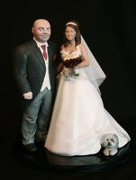 wedding statue by chriswalsh