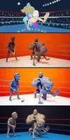 wrestling evolution by chriswalsh