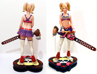 Lollipop Chainsaw Juliet Starling Statue by chriswalsh