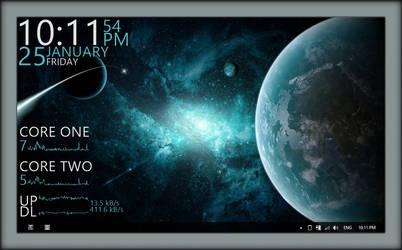 Windows-8 Galactic F by Draco23hack