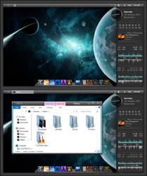 Windows-8 Galactic E-M by Draco23hack