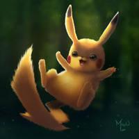 Pikachu by MayOrnelas