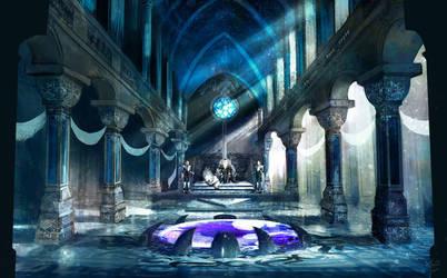 Ice Kingdom Palace by MayOrnelas