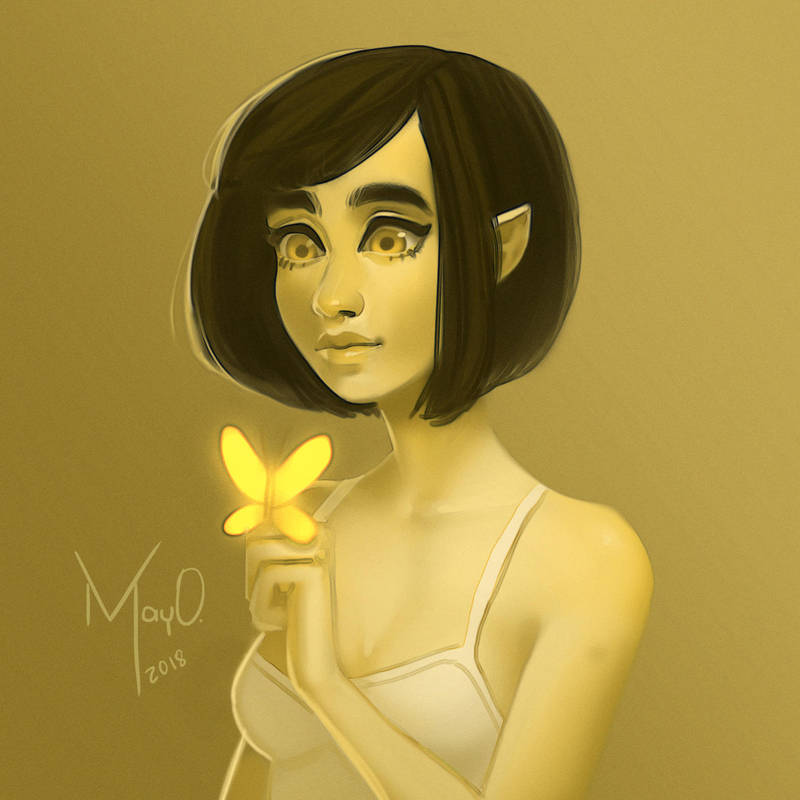 Yellow - monochromatic by MayOrnelas