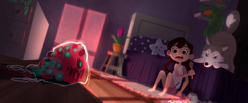 Color Key scene by MayOrnelas