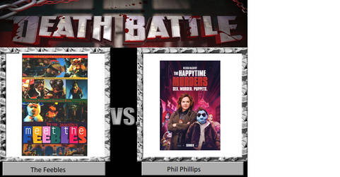 Death Battle Idea: The Feebles vs. Phil Phillips by JusSonic