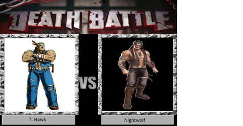 Deathbattle: T. Hawk vs. Nightwolf by JusSonic