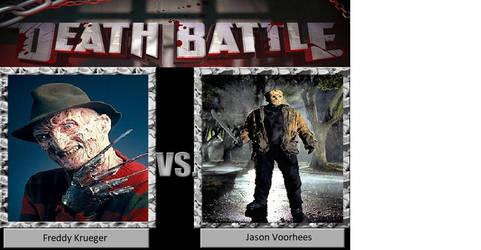 Death Battle: Freddy Krueger vs. Jason Voorhees by JusSonic