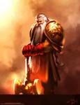 Dwarf King of the Unicorns by jameszapata