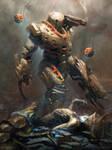 Galaxy Saga - Hunter (advanced) by jameszapata