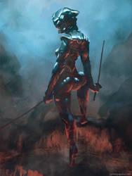 chrome ninja by jameszapata