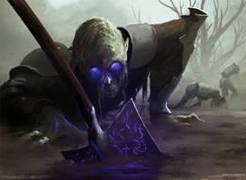 Undead Servant by jameszapata