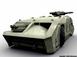 USCM APC from 'Aliens' by daveo-irl
