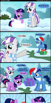 A present for Twilight. by Coltsteelstallion