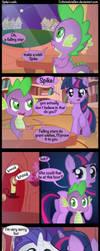 Spike's wish. by Coltsteelstallion