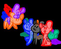 A New Friend - [F2U Mlp Base] by PrincessAppYT