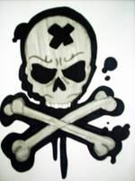Skull by Kirstin12Hayles