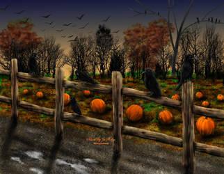Crows by JPMNeg