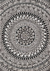 Extended Mandala by ambercamiart