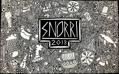 Snorri 2018 Tribute by ambercamiart