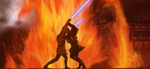 Duel on Mustafar by InnoYou