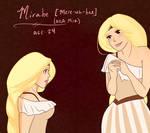 SoO OC.::Mirabe::. by HeSerpenty