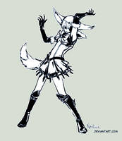 SailorPewterFox by neofox