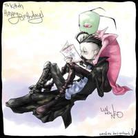 Happy Birthday Kitteh - ZADR by neofox