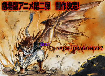 NATSU COVER THE NEW MOVIE FT435/436 OMFG by nina2119
