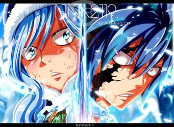 Gray vs Juvia IceRain Fairy Tail 498 by nina2119
