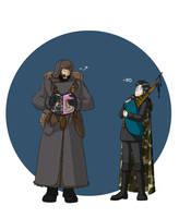 Adjutants by Morgaer