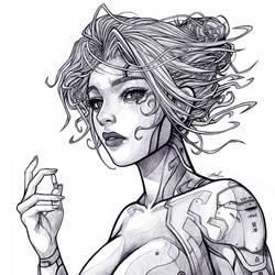 .:: Cyberpunk ::. by Takamin