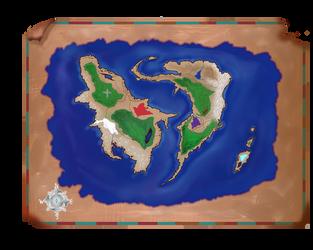 Fantasy Map Auction by Maraqua