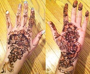 Henna Art Eid 2013 by Maraqua