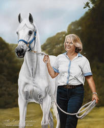 Julie and Karmaa from Mulawa Stud AUS by AtelierArends