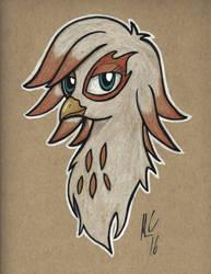Ingrid the Griffon by Art-of-Matthew