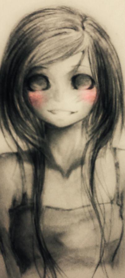 blush pink by fluff-kun