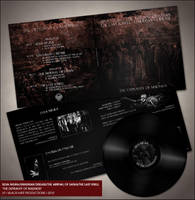 The Depravity LP layout by MartinSilvertant
