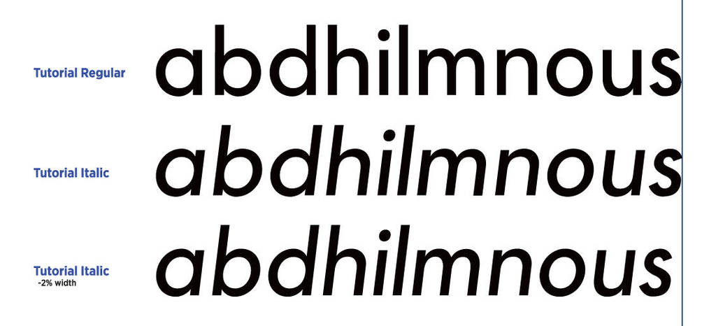 How to design a typeface (Part 2) - Figure 11 by MartinSilvertant