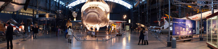 Space Shuttle Discovery by dssken